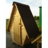 """Туалет """"Теремок"""" для дачи,  дачный,  деревянный,  сборный."""