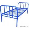 Кровати металлические с сеткой разных типов
